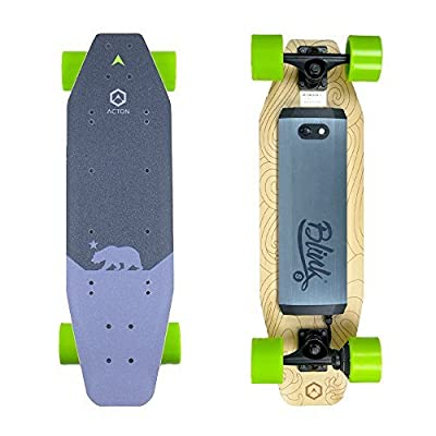 ACTON BLINK S | Powerful Electric Skateboard For College | Ride Up To 7 Miles On A Single Charge | 15 MPH Top Speed | With LED Lights | 3 Ride Modes | Bluetooth Remote Control Included from ACTON
