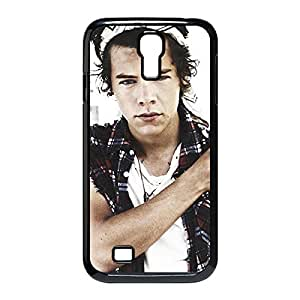 Harry Styles Custom Skidproof Printed case cover for Samsung Galaxy S4 I9500 Black 022201 by mcsharks