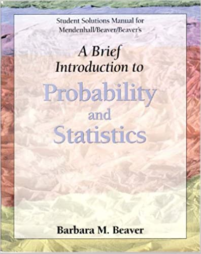 Student solutions manual for introduction to probability and.