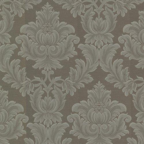 (Mirage 2601-20804 Oldham Damask Wallpaper, Taupe )