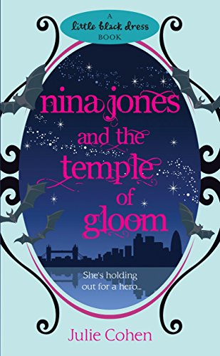 book cover of Nina Jones and the Temple of Gloom