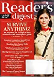 Reader's Digest LARGE PRINT June 2016   Survive Anything! 25 High-Stakes Scenarios