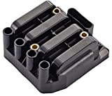 Ignition Coil Pack for Volkswagen VW Beetle Golf Jetta Clasico 2.0L L4 fit UF484 C1393 5C1390