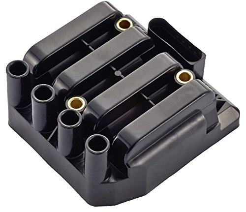 Ignition Coil Pack for Volkswagen - VW Beetle Golf Jetta Clasico - 2.0L L4 fit UF484 C1393 5C1390 02 Vw Jetta Golf