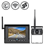 Wireless Backup Camera System for RV, Truck, Bus, Commercial Vehicles by...