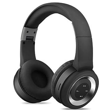 AnJoy Auriculares Bluetooth Música Deportiva Soporte para ...