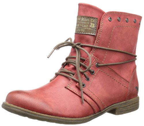 Mustang Women Ankle Boots Red, (Rot) 1134-602-5