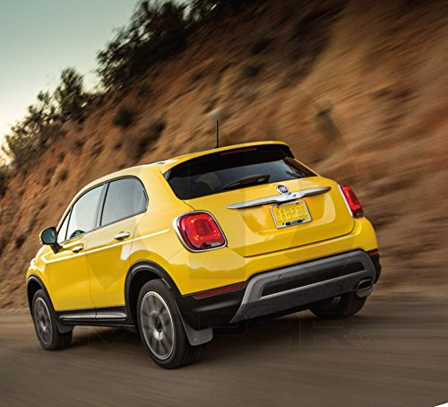 2016 Fiat 500x Deluxe Molded Splash Guards - Front Pair