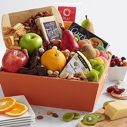 Premium Dried Fruits Special - Same Day Dried Fruit Basket Delivery - Dried Fruit Gifts - Best Dried Fruit Tray- Mixed Dried Fruit - Dried Fruit and Nut Gift Baskets by eshopclub