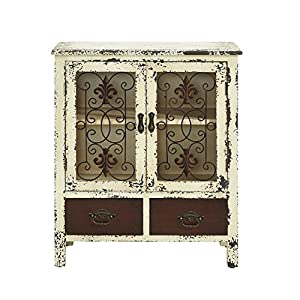 Powell Parcel 2-Door 2-Drawer Console Table