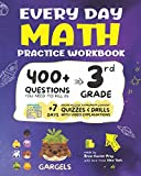 Every Day Math Practice Workbook: 400+ Questions You Need to Kill in 3rd Grade + 7 Days Online Access to Premium Content    Quizzes & Drills  with Video Explanations