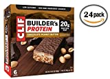 builders protein bars - Clif Builder's Bar, 20 Grams of Protein, 2.4 Oz (Chocolate Peanut Butter, 24 Count)