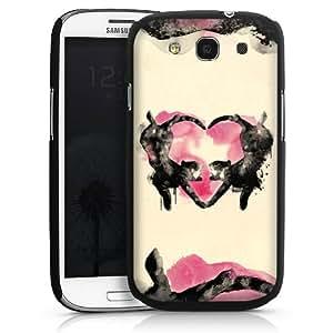 Carcasa Design Funda para Samsung Galaxy S3 i9300 / LTE i9305 HardCase black - Cats love to sleep