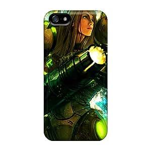 Best Hard Phone Cover For Iphone 5/5s With Customized Stylish Samus Aran Image Marycase88