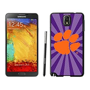 Hot Sell Samsung Galaxy Note 3 Case Ncaa ACC Atlantic Coast Conference Clemson Tigers 05 Special Protective Cases