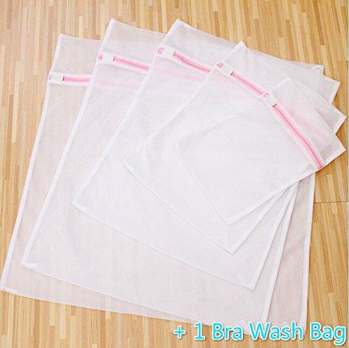 SCStyle Set of 6 Useful Multi-Functional Laundry Mesh Bra Wash Bag Travel Organizer Storage Case Bag