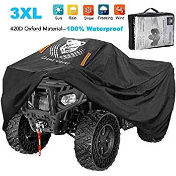 CAMO//CAMOUFLAGE FREE FAST SHIPPING! NEW EXTRA LARGE VORTEX HEAVY DUTY ATV QUAD FOUR WHEELER COVER