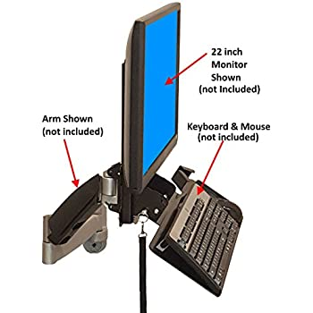 Amazon Com Lx Wall Mount Keyboard Arm Electronics