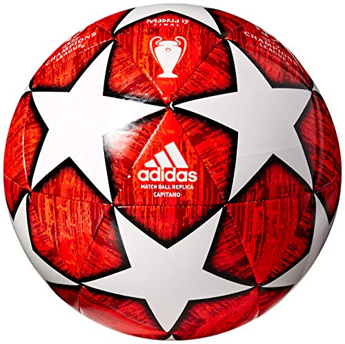 (adidas Finale Glider Soccer Ball Off White/Power Red/Solar Red/Active Red Bottom: Black, 4)