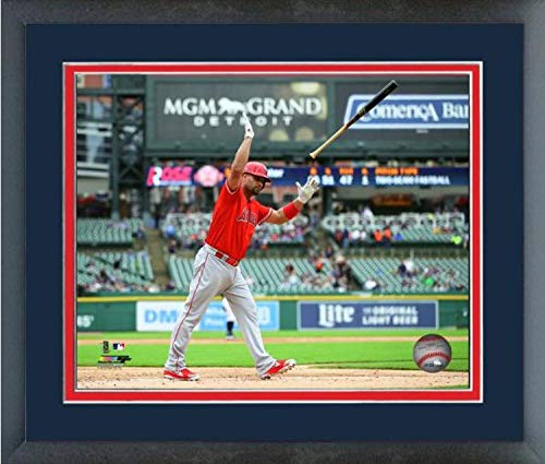Albert Pujols Los Angeles Angels 2019 MLB 2000 Career RBI Action Photo (Size: 13