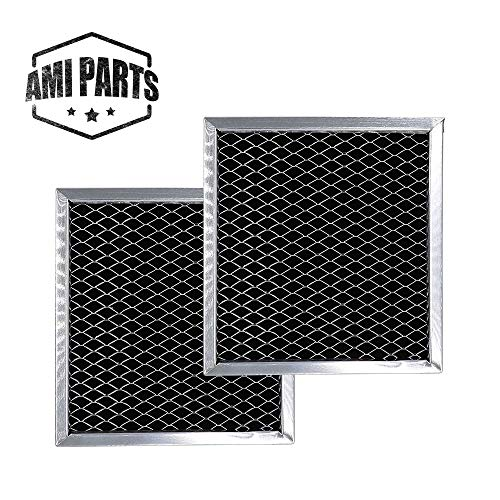 (AMI PARTS 8206230A Charcoal Filter Replacement Part Carbon Filters Compatible with Whirlpool Maytag Microwave(2pcs))