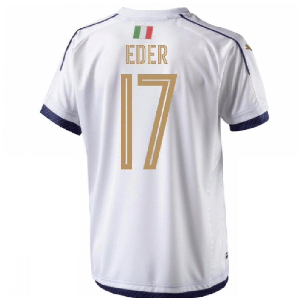 2006  Tribute Away Football Soccer T-Shirt Trikot (Eder 17)