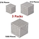 RLRY Magnetic Cube Magnets Blocks Magnetic Sculpture Holders Square Cube Children's Puzzle Magic Cubes DIY Educational Toys for Kids 01