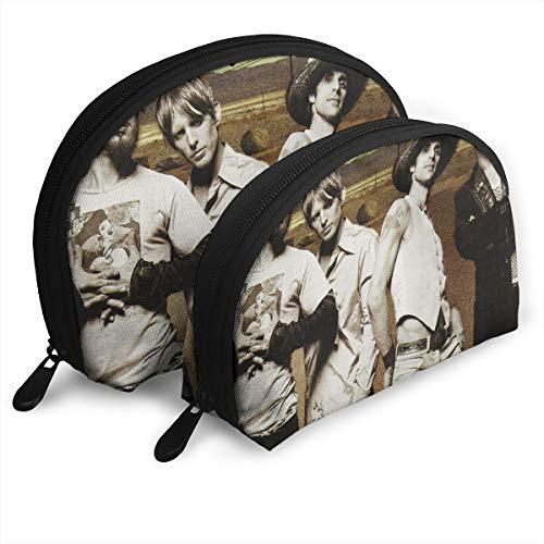 WYeter Jane's Addiction Band Mercury Customized Portable Bags Clutch Pouch Storage Bag Cosmetic Bag Purse Travel Storage Bag Shell Shape One Big And One Small For Women