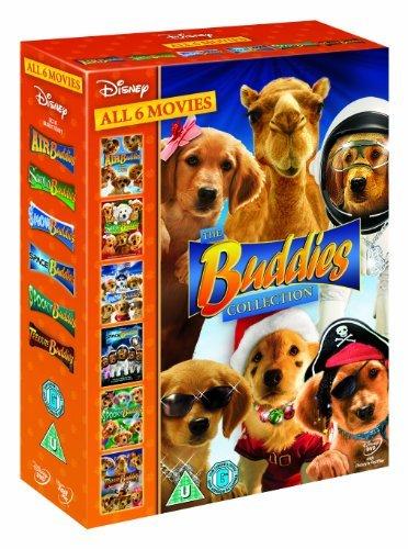 (Walt Disney's Complete Buddies 1- 6 Collection: Air Buddies, Santa Buddies, Snow Buddies, Space Buddies,)