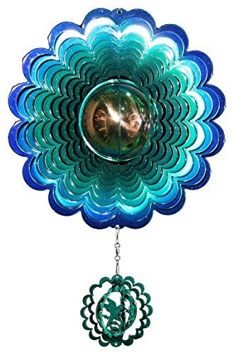 Next Innovations Medium Hummingbird Gazing Ball Blue/Green