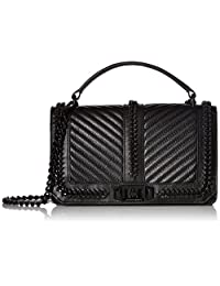 Rebecca Minkoff Love Cross-Body Bag with Chain and Top-Handle