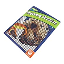 MindWare Mystery Mosaics Book 5-20 Unique Puzzles-Teaches Creativity and Fosters Imagination-Includes Fold-Out Designs