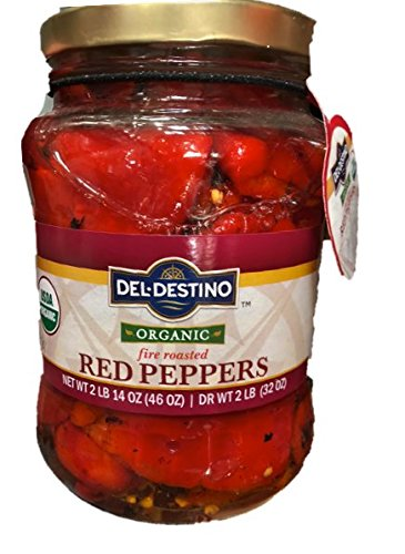(Organic Fire Roasted Red Peppers 46oz)
