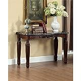 Furniture of America Jinson Console Table in Espresso