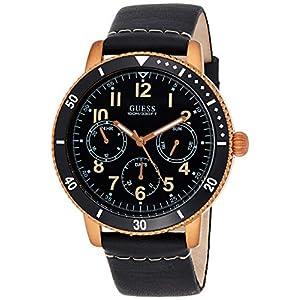 Guess Analog Black Dial Men's Watch-W1169G2