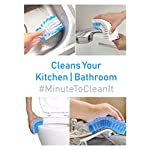 MinuteToCleanIt Flexible Cleaning Brush for Home, Kitchen and Bathroom (Multicolour) (1)