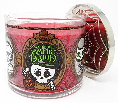 Bath & Body Works Vampire Blood Halloween 2017 Candle 3 Wick 14.5 (Halloween Iii 2017)