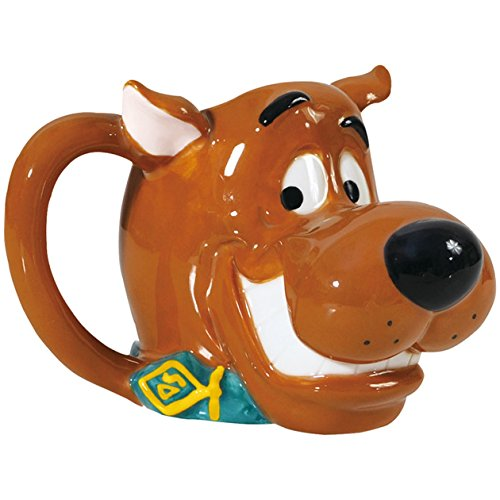 Westland Giftware 4.25-Inch Scooby-Doo Head Ceramic Mug, - Scooby Furniture Doo