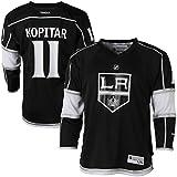 Anze Kopitar Los Angeles Kings #11 Black NHL Youth Home Reebok Replica Home Jersey Small/Medium