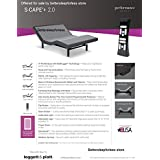 Leggett and Platt S Cape+ Plus 2.0 Adjustable Bed Base! Free White Glove Delivery! Includes Extended 10 year inhome Warranty! 25 year Total warranty! (Split King (76x80))