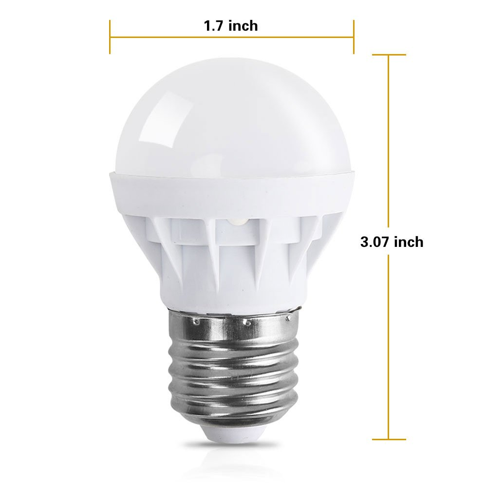 LVJING E26 LED Light Bulb Color Changing with Remote Control, 3W E27 ...