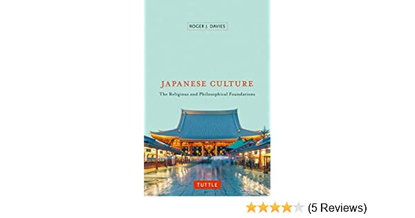 AmazonCom Japanese Culture The Religious And Philosophical