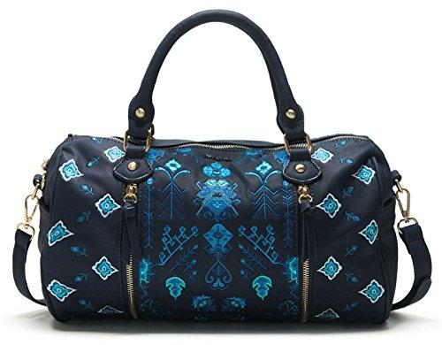 Desigual Bag Hand Navy Sidney Thalassa w6Ox0rzH6