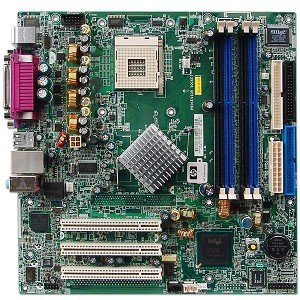 ASUS P4SD 865GV HP 360427-001 Socket 478 Intel Bare Motherboard (Socket 478 Pentium 4 Motherboard)