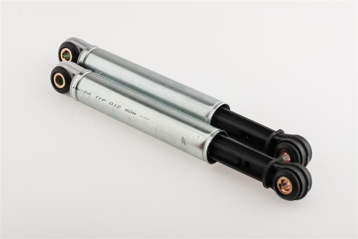 2 x Stoßdämpfer Dämpfer für Bosch Siemens Constructa SUSPA Typ 012 8mm 120N