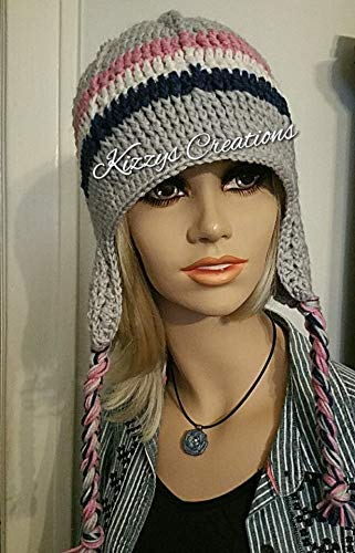 37e880b30 Crochet Beanie Style Hat With Ear Flaps