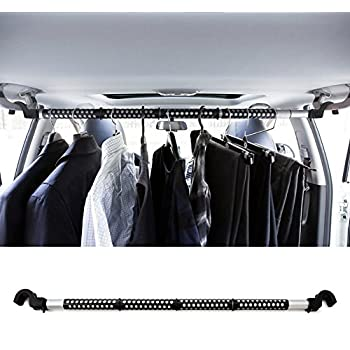 High Road Heavy Duty Expandable Car Clothes Hanger Bar