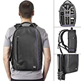 #10: DSLR Camera and Mirrorless Backpack Bag by Altura Photo for Camera and Lens (The Wanderer Series)