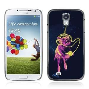 YOYOSHOP [Funny Space Cat] Samsung Galaxy S4 Case