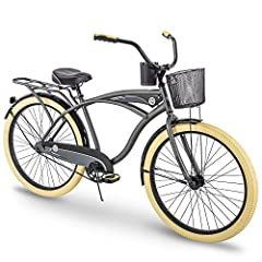 The Holbrook delivers in comfort, style, and convenience. Designed with the Perfect Fit Frame, this Huffy Holbrook may be the most comfortable bike you'll ever ride. The Perfect Fit Frame places the seat farther back, with a lower center of g...